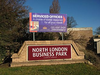 Barnet London Borough Council - North London Business Park (NLBP) in New Southgate, where LB Barnet has large offices.