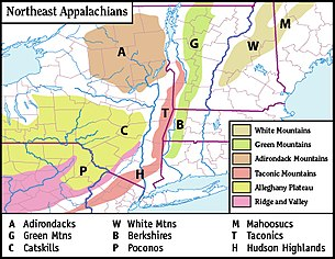 White Mountains Map White Mountains (New Hampshire)   Wikipedia