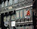 Northeim - Fachwerkhaus mit Schild Apotheke.JPG