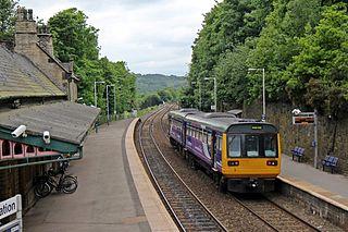 New Mills Central railway station Railway station in Derbyshire, England