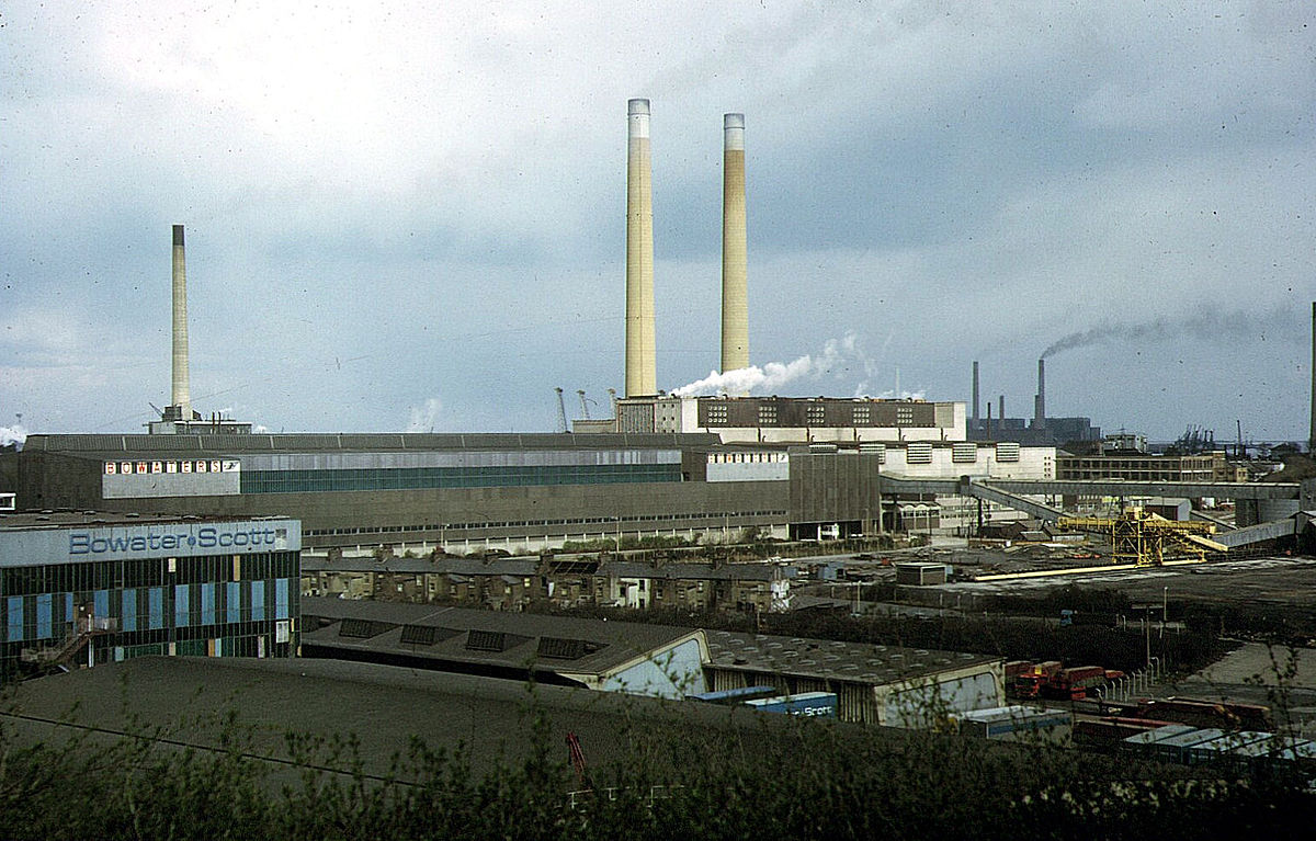 Northfleet Power Station - Wikipedia
