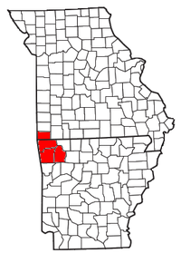 Map of Northwest Arkansas