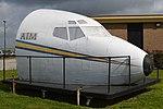 Nose of Boeing 727-25(F) (N507FE) (39579093514).jpg