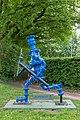 "Nottuln, Skulptur ""Rohrbert"" -- 2018 -- 2513.jpg"
