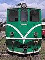 Nová Bystřice, nádraží, čelo lokomotivy T 47.005.jpg
