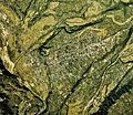 Numata city center area Aerial photograph.1975.jpg