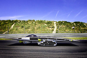 World Solar Challenge - Nuna 3 of five time victors, Dutch Nuna team