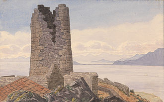 O'Hara's Tower - O'Hara's Tower, Gibraltar by George Lothian Hall