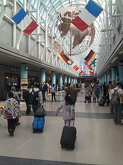 O'Hare Airport - Terminal 3 Main Hall