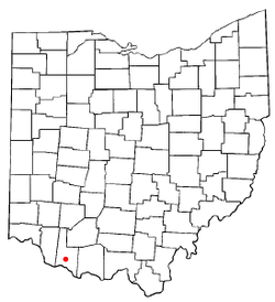 Location of Georgetown, Ohio