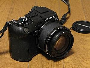 Olympus C-8080 Wide Zoom - Image: OLYMPUS C 8080WZ 01
