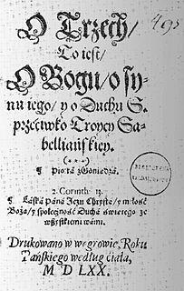 Piotr of Goniądz Polish theologian
