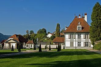 Oberdiessbach - Image: Oberdiessbach Neues Schloss 05
