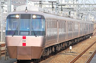 Odakyu 30000 series EXE Electric multiple unit train type operated by the Odakyu Electric Railway in Japan