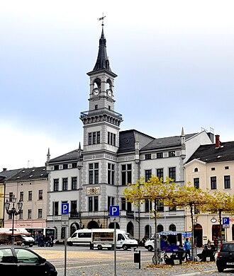 Oelsnitz, Vogtland - Image: Oelsnitz Vogtl Rathaus