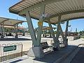 Ogden Intermodal Transit Center designated smoking area.JPG