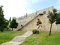 Old Jerusalem stairway for climbing the ramparts.jpg