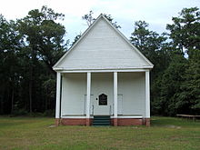 Old Church at Scotland, Alabama