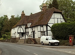 Bearsted - Image: Old cottages at Bearsted geograph.org.uk 1356785