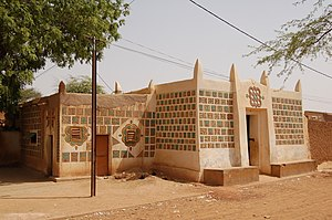 Zinder - An ancient mudbrick home in the Birni old town