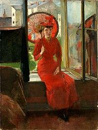 Olga Boznańska 1892 Autoportret japonski.jpg