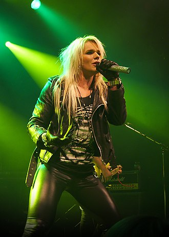 H. Olliver Twisted - Olli Herman with Reckless Love live in 2012 at Tavastia Klubi in Helsinki.