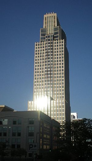 First National Bank Tower - First National Bank Tower; looking to the east.