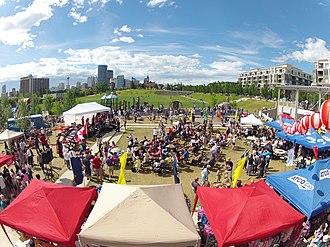 Bridgeland, Calgary - Omatsuri Festival in Bridgeland