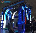 One screen with various creative shapes---Yestech Magic stage led display creative shapes installation.jpg