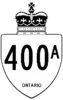 Highway 400A shield