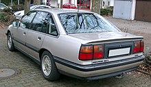 Opel Senator B rear 20080102.jpg