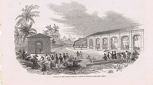 Rail transport in Jamaica - Opening of the Jamaica Railway - Kingston Terminus