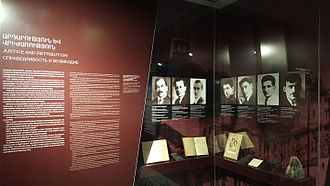 Operation Nemesis - An exhibition dedicated to Operation Nemesis at the genocide museum in Yerevan, Armenia