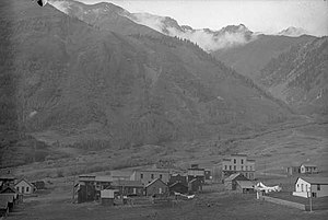 Ophir, Colorado circa 1895