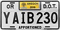 Oregon 2018 Apportioned Truck License Plate.jpg