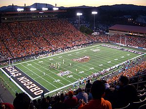 Oregon State Beavers - Reser Stadium