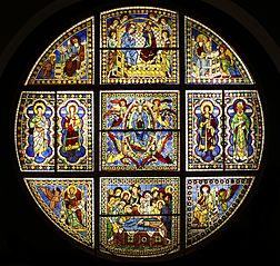 Vitrail du Duomo de Sienne