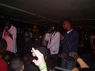 O.G.C. (band) - Starang Wondah (left), Top Dog (center) and Louieville
