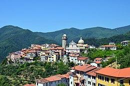 Panorama del borgo di Ortonovo