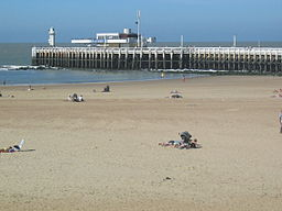 Stranden i september 2004