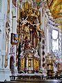 Osterhofen Basilika St. Margareta Innen Seitenaltar 1.JPG