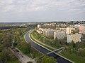 Ostrava, pohled z věže, Ostravice.jpg