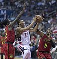 Otto Porter Jr., Dwight Howard (34136333262).jpg