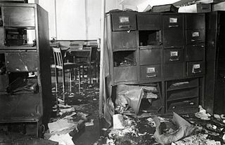 1943 bombing of the Amsterdam civil registry office Bombing of the Amsterdam civil registry office by the resistance 1943