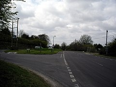 Ox Drove joins Walworth Road - geograph.org.uk - 156386.jpg