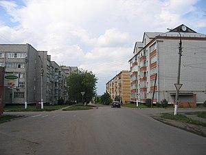Ozherelye - Pionerskaya Street in Ozherelye
