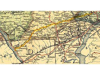 Philadelphia and Baltimore Central Railroad