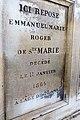 Père-Lachaise - Division 27 - Sainte-Marie d'Agneaux 11.jpg