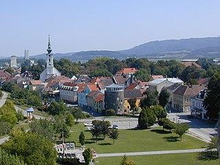 Pöchlarn Place in Lower Austria, Austria