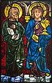 Pöggstall Pfarrkirche Glasfenster Johannes+Apostel 01.jpg